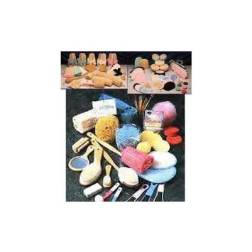 Earthline Loofah Complexion Disc 3 Pc #120 Loofah & Sea Sponges