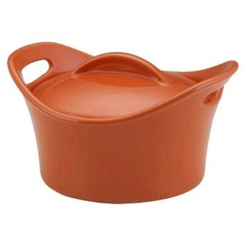 Rachael Ray Mini Round Casserole - Orange (18 oz)