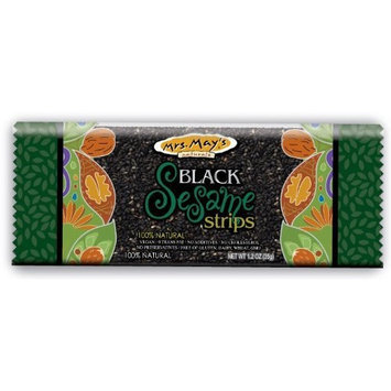 Mrs Mays Mrs. Mays Black Sesame Strips, 1.2-Ounce (Pack of 20)