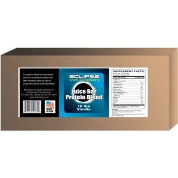 Eclipse Sports Supplements Juice Bar Protein, Natural Flavor,15-Pound