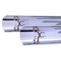 Aquatic Life Retrofit Polished Single Lamp Reflector Aquarium Light with Clips, 48-Inch