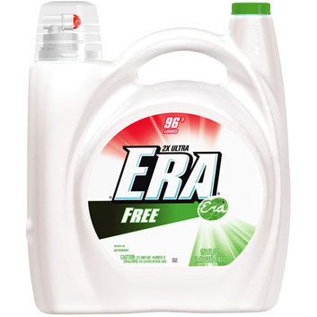 Era 2X Ultra Free Liquid Detergent 96 Loads 150 Fl Oz