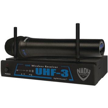 Nady UHF-3 HT SYS MU2/480.55 Wireless Handheld Microphone System