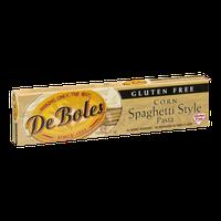 De Boles Free Corn Spaghetti Style Pasta Gluten Free
