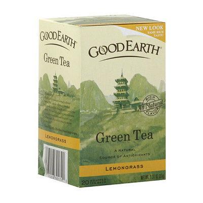 Good Earth Lemongrass Green Tea