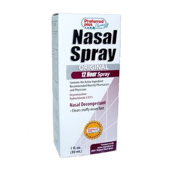 Preferred Plus Pharmacy Nasal Spray Sinus 12-Hour 1oz (30ml) (Pack of 12)