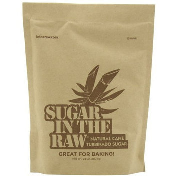 Sugar in the Raw Raw Sugar, 24-Ounce Bags (Pack of 12)