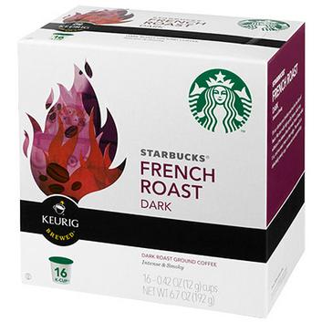 Starbucks K-Cup French Roast Coffee