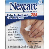 3M Nexcare Skin Protectant, Moistened Wipes, 6 Moistened Skin Protectant Wipes (Pack of 3)