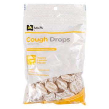 DG Health Cough Drops - Honey Lemon Flavor, 40 ct