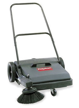 DAYTON 5Z042 Push Sweeper, Walk Behind,27