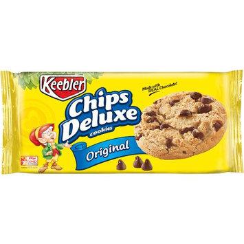Kellogg Company Keebler Chips Deluxe Original Cookies, 12.6 oz, (Pack of 12)