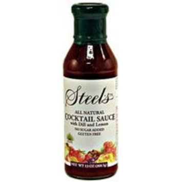 Steel's Gourmet Agave Cocktail Sauce -- 13.5 fl oz