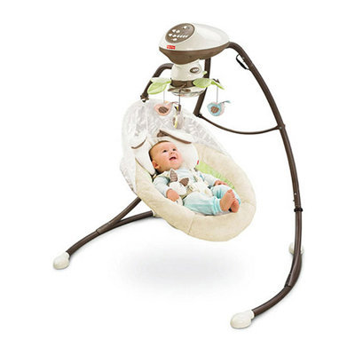 Fisher-Price - My Little Snugabunny Cradle 'n Swing