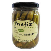 Matiz Piparras Spanish Basque Peppers 6.4 oz jar