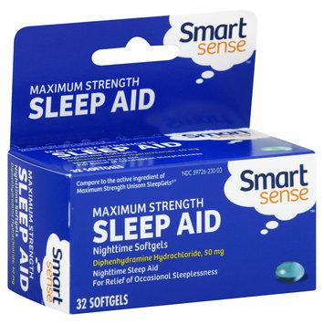 Smart Sense Sleep Aid, Maximum Strength, Softgels, 32 softgels - KMART CORPORATION