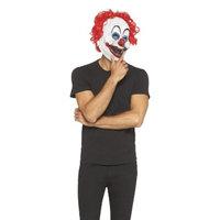 Seasonal Designs Creepo the Clown Mask With Hair