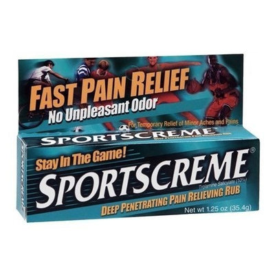 Sportscreme Pain Relieving Rub, 1.25 Oz. (2 Pack)