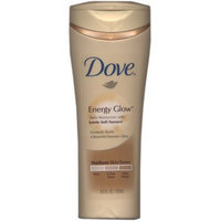 Dove Energy Glow Daily Moisturizer with Subtle Self-Tanners Medium to Dark Skin Tones