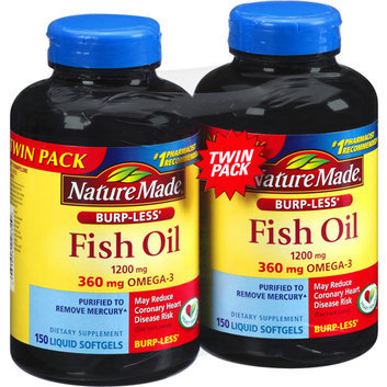 Nature Made Fish Oil Liquid Softgels Dietary Supplement
