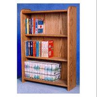 Wood Shed 3 Shelf Media Storage (Clear)