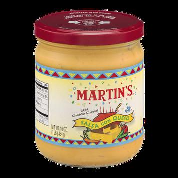 Martin's Salsa Con Queso