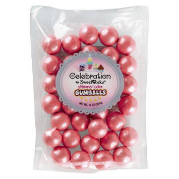 SweetWorks Sweetworks Gumballs Light Pink 14 OZ