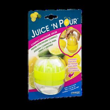 Juice 'N Pour Compact Lemon/Lime Juicer