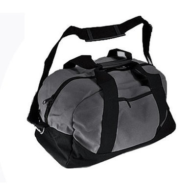 Walgreens Satchels New York 4424 Duffle Bag, Gray/Black