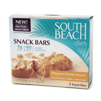 South Beach Diet Snack Bars Peanut Butter