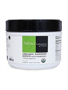 Davinci Labs - Organic Rainbow Blend with Probiotics - 275.4 g Powder