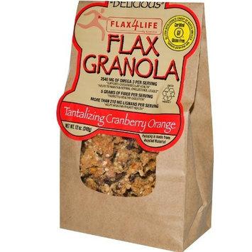 Flax4Life Flax Granola, Cranberry Orange, 12 Ounce