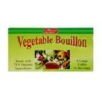 The Organic Gourmet Vegetable Bouillon Cubes -- 8 Cubes