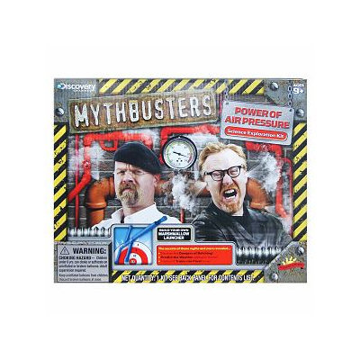 Scientific Explorer MythBusters Power of Air Pressure Ages 9 and up
