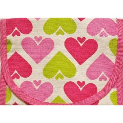 ReSnackIt Reusable Sandwich Size Bag, Hearts