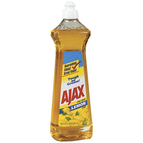 Ajax 14oz Non-Concentrated Dish Soap in Lemon Scent (44630)