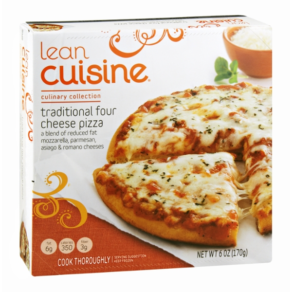 Lean Cuisine Culinary Collection Traditional Four Cheese Pizza