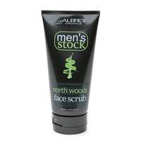 Aubrey Organics Men's Stock North Woods Face Scrub