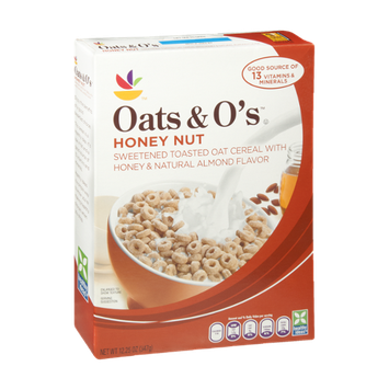 Ahold Oats & O's Honey Nut Cereal