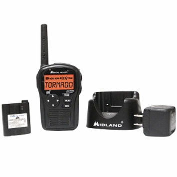 Midland Hh54vp2 Same All-hazard Handheld Weather Alert Radio, 1 ea