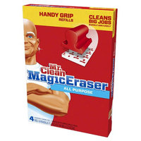 Mr. Clean Magic Eraser Handy-Grip All Purpose Refills, 4 ea