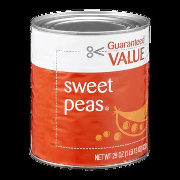 Guaranteed Value Peas Sweet