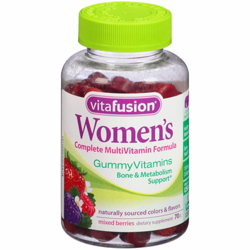 Vitafusion Women's Gummy Vitamins Complete MultiVitamin Formula