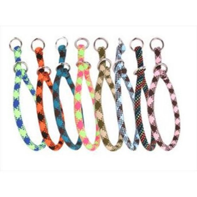 Yellow Dog Design YEL114T 14 in. Multi Color Braided Rope Training Collar