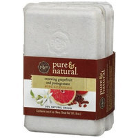 Pure & Natural Bar Soap Renewing Grapefruit & Pomegranate, 4-Ounce Double Pack Bars (Pack of 4)