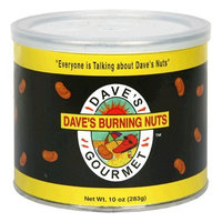 Daves Gourmet Dave's Gourmet Dave's Burning Nuts, 10-Ounces