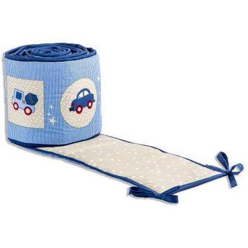 Dream On Me Travel Time Portable Crib Bumper