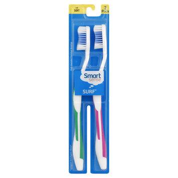 Kmart Corporation Smart Sense Surf Toothbrushes, Full, Soft, 2 toothbrushes - KMART CORPORATION