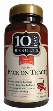 Ten Day Results Back on Tract