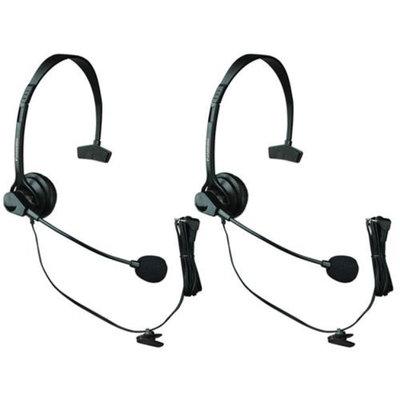 VTech KX-TCA60 2 PACK FOR VTECH PHONES Over The Head Headset
